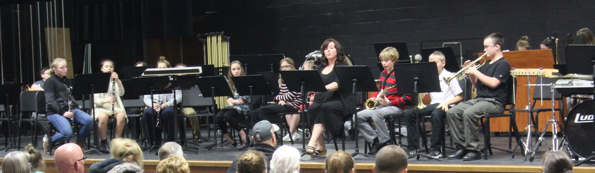 Winter Band Concert - 6th grade band!
