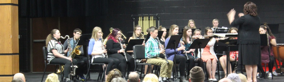 Winter Band Concert - Junior High band!