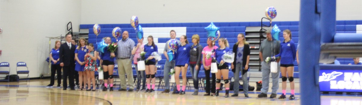 Volleyball Senior Night!