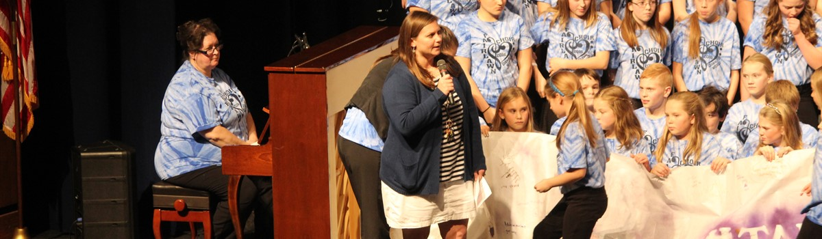 Mrs. Riethman speaks about Cystic Fibrosis