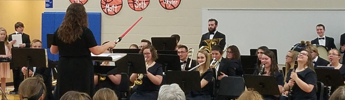 Spring Band Concert presents the Star Wars theme