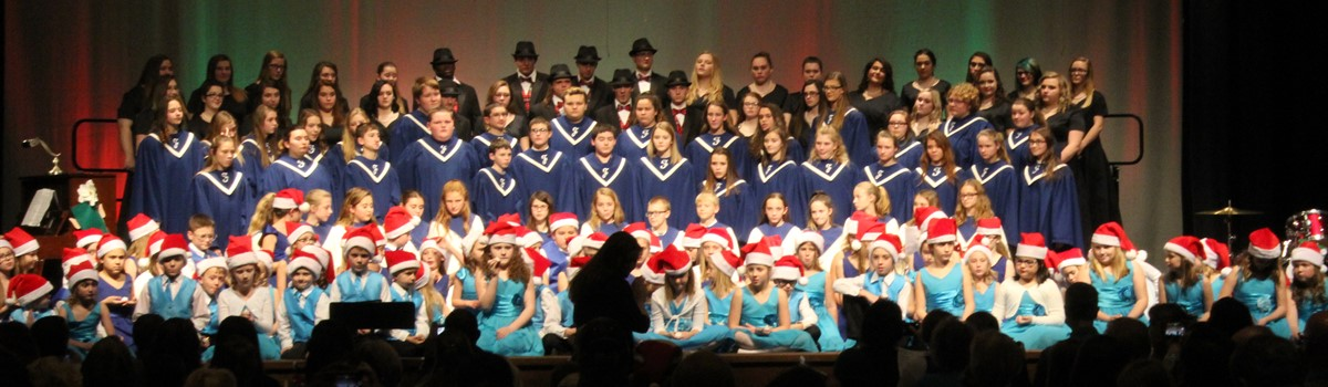 Winter Choir Concert!