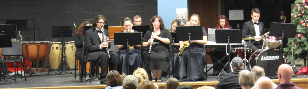 Winter Band Concert - High School band!